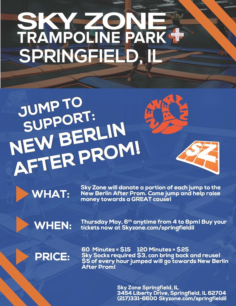 After Prom Fundraiser Flyer