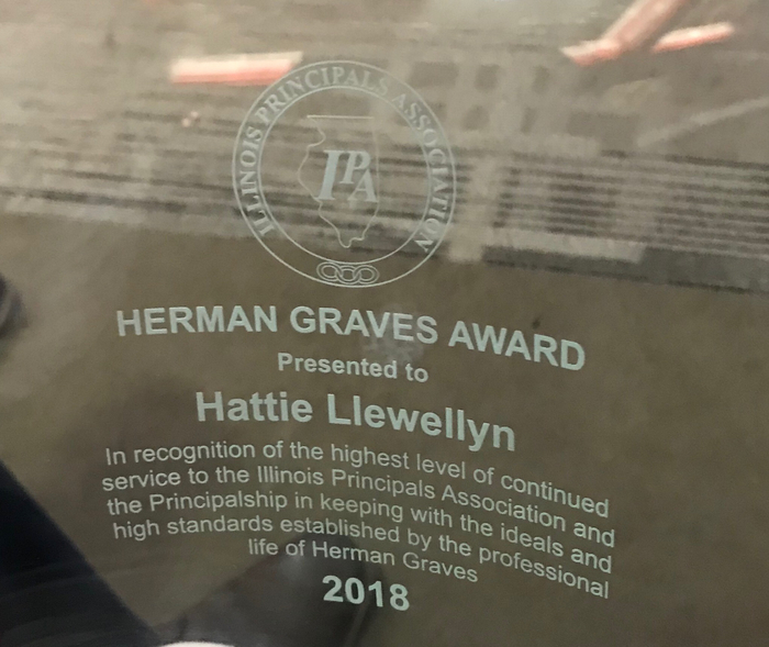 Congratulations to Hattie Llewellyn!