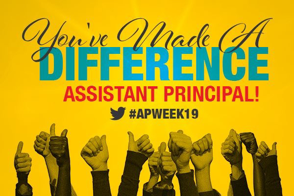 Assistant Principals week!