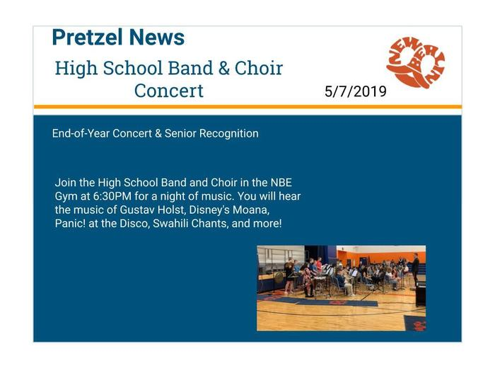 HS Band and Choir