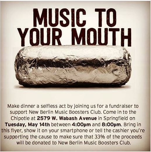 Come out and support the NB Music Boosters!