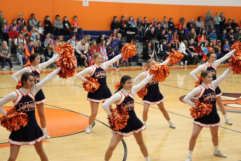 Three cheers for our Cheerleaders!