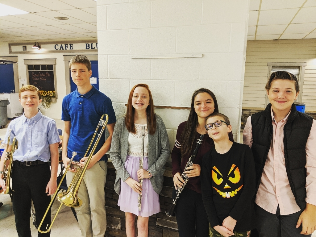 Our NB Band ILMEA participants. Plus a couple of friends we saw at auditions.