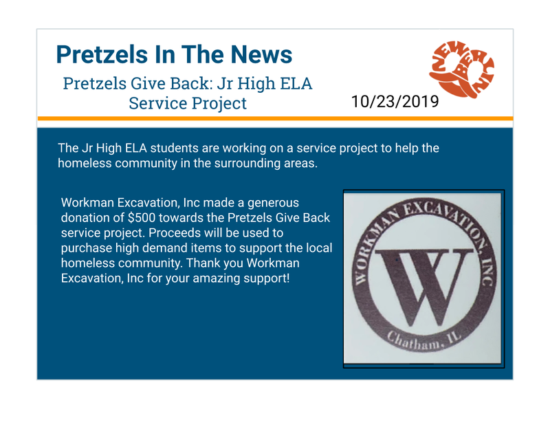 Pretzels In The News